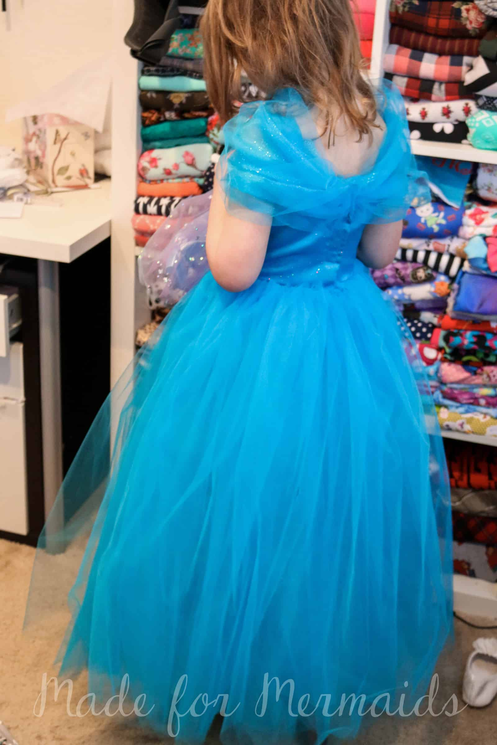 FREE size 5 New Cinderella Gown Pattern ⋆ Made for Mermaids