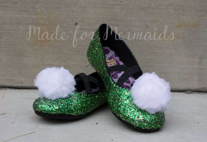 4a66b6521c1d Tinkerbell/Glitter Shoes Tutorial