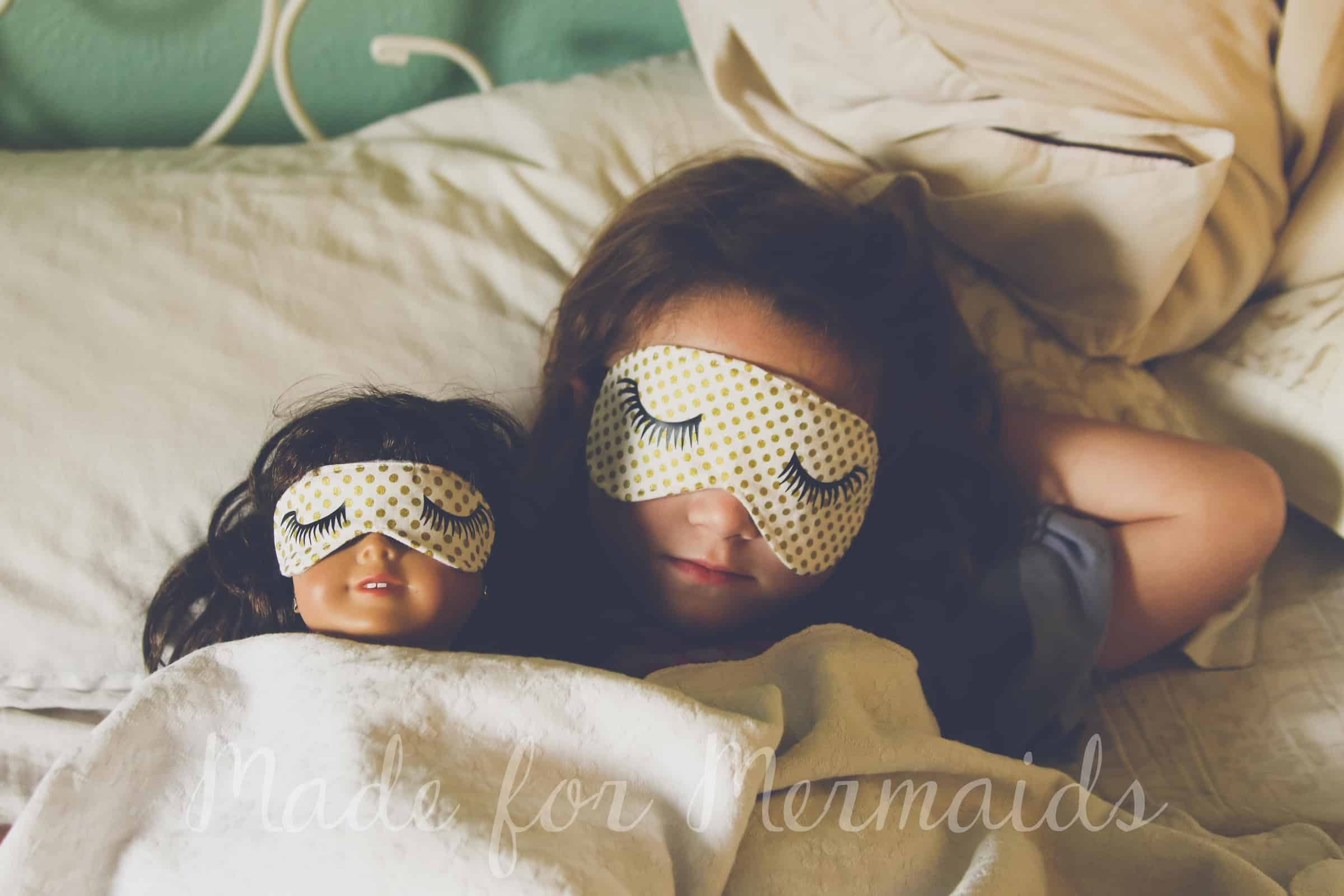 Free Sleep Mask For Adults Children And Dolly ⋆ Made For Mermaids