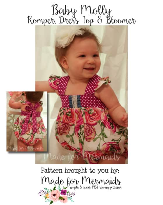 f52e6f77b45a BABY Molly bubble romper ...