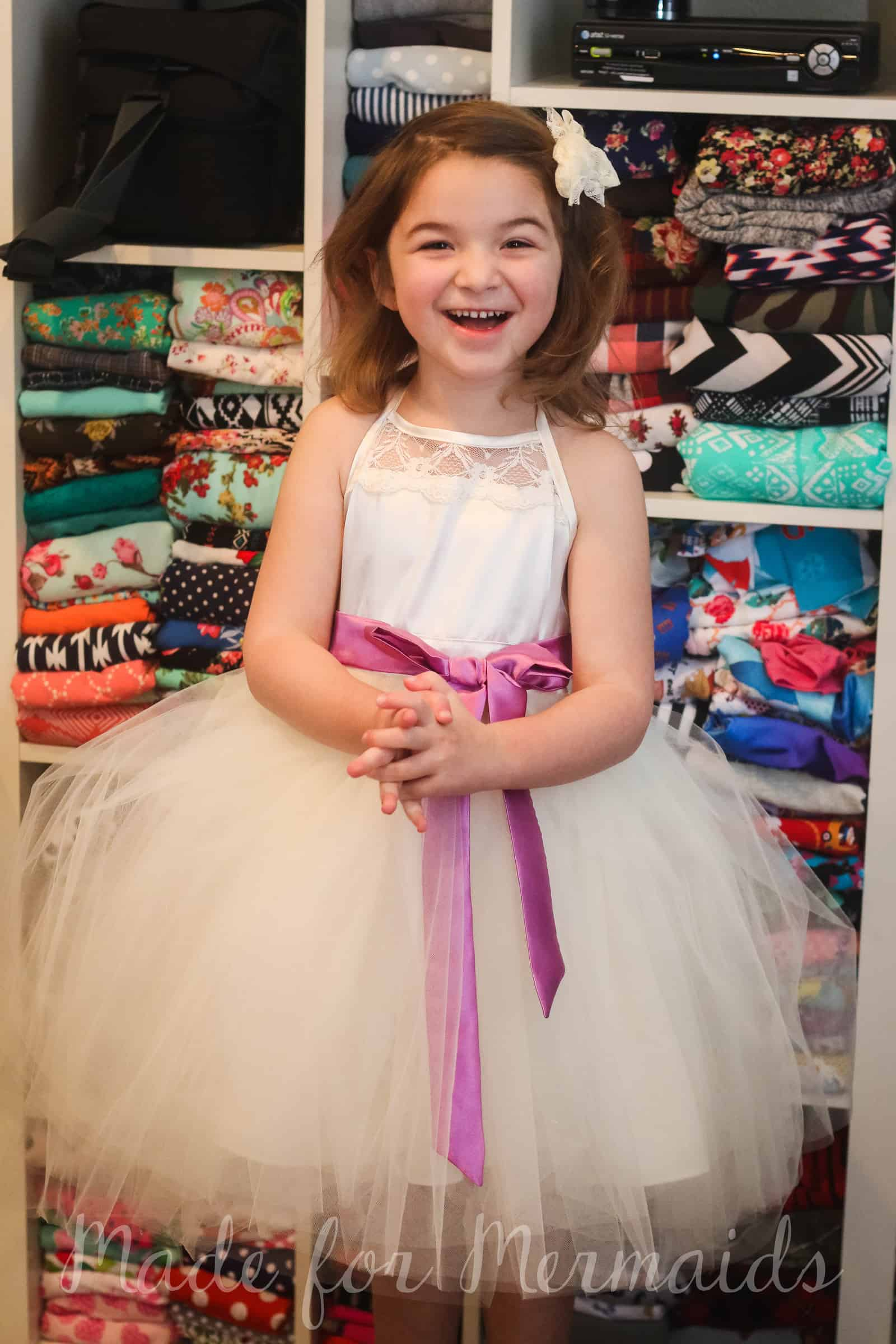 How to add a tulle over skirt to any pattern