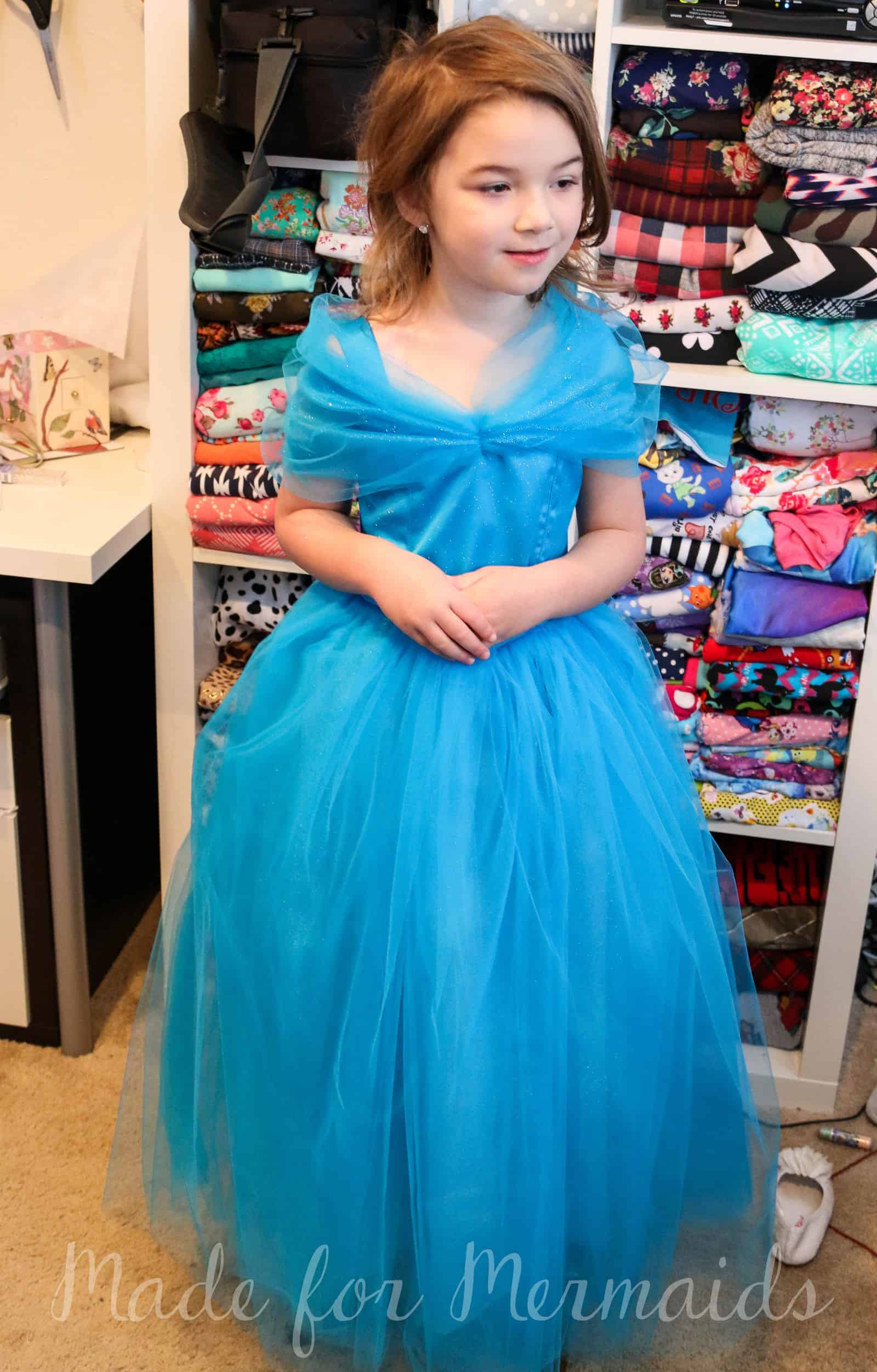 FREE size 5 New Cinderella Gown Pattern