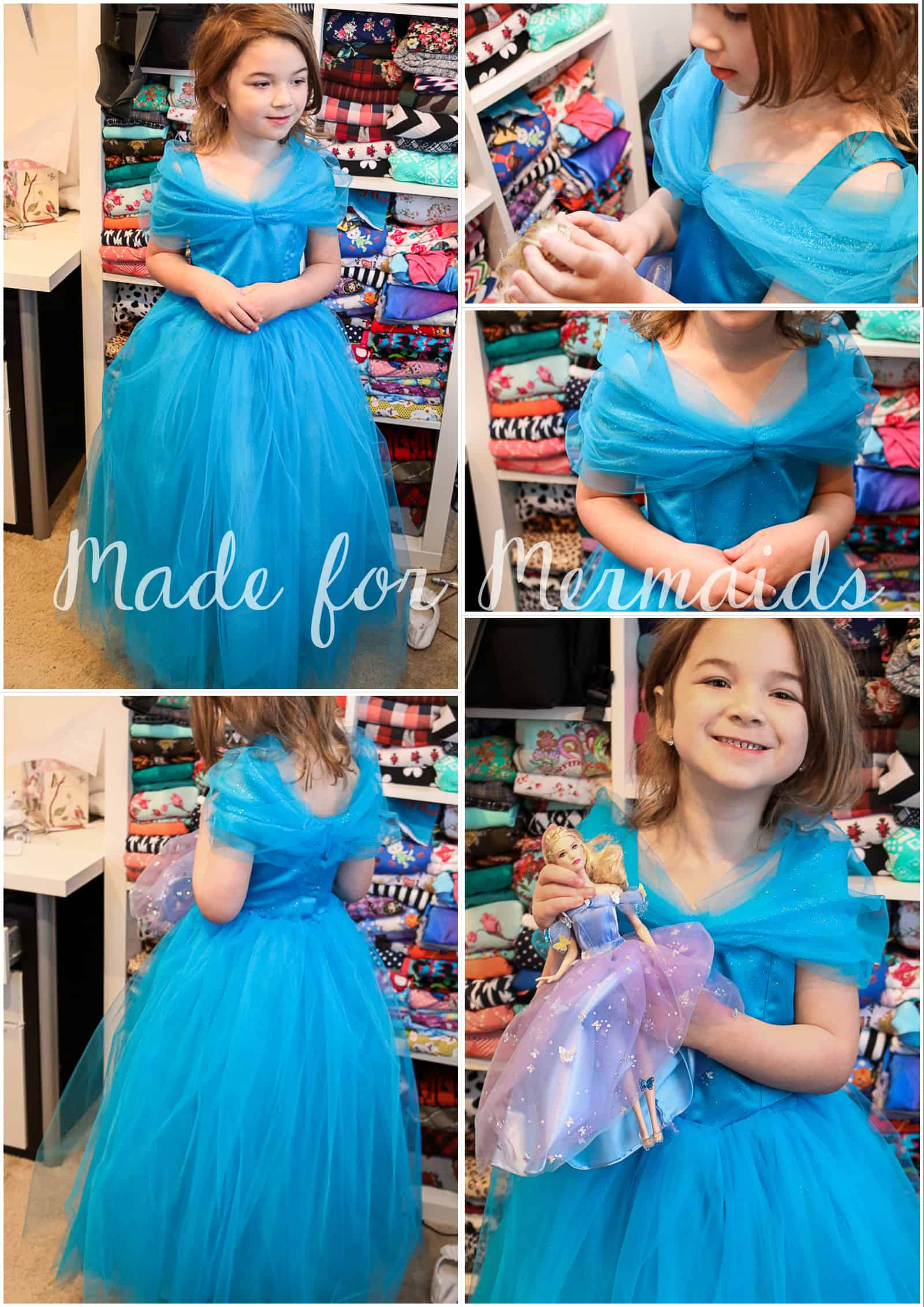 FREE new Cinderella dress pattern- size 5!