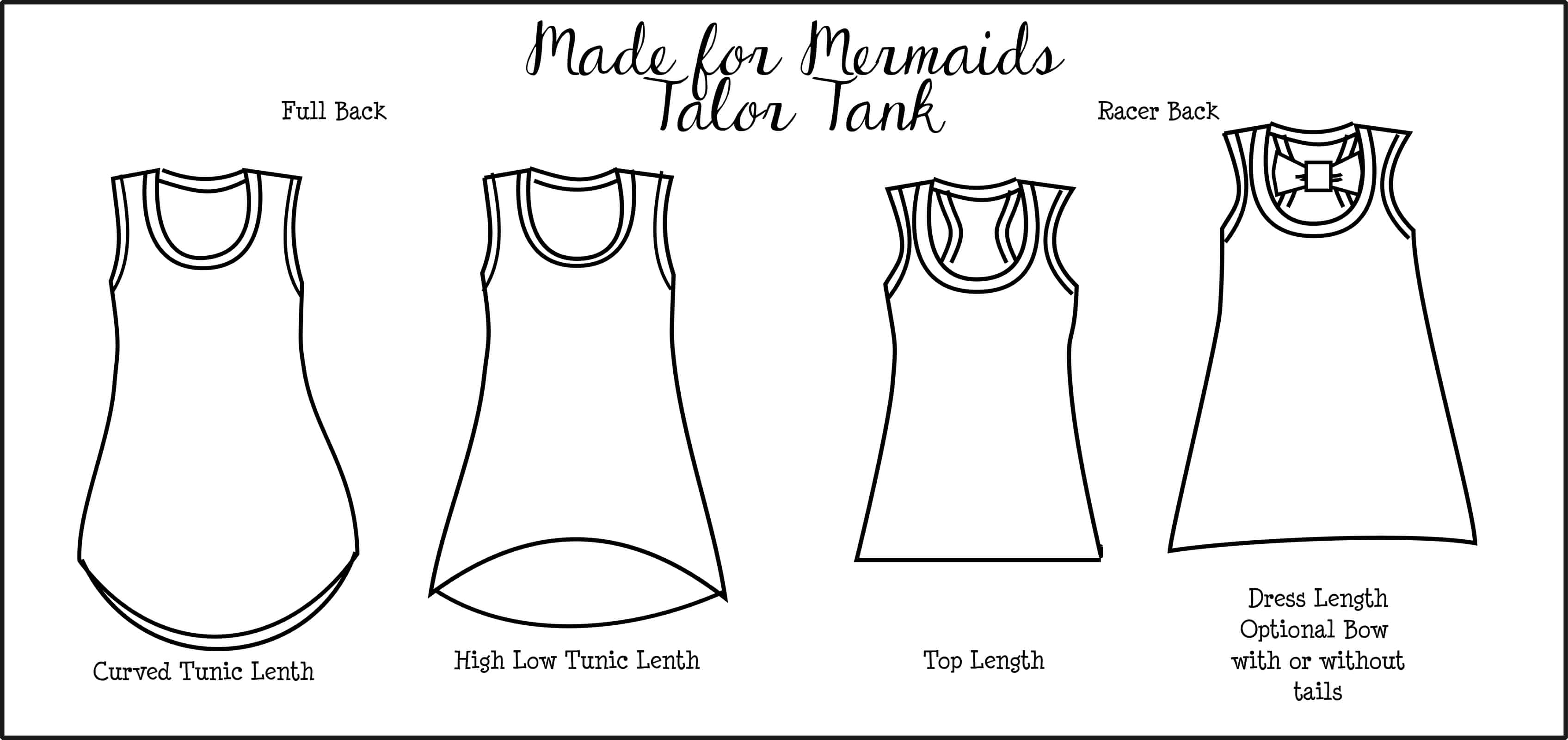 Talor tank top tunic and dress made for mermaids talor tank top tunic and dress jeuxipadfo Gallery