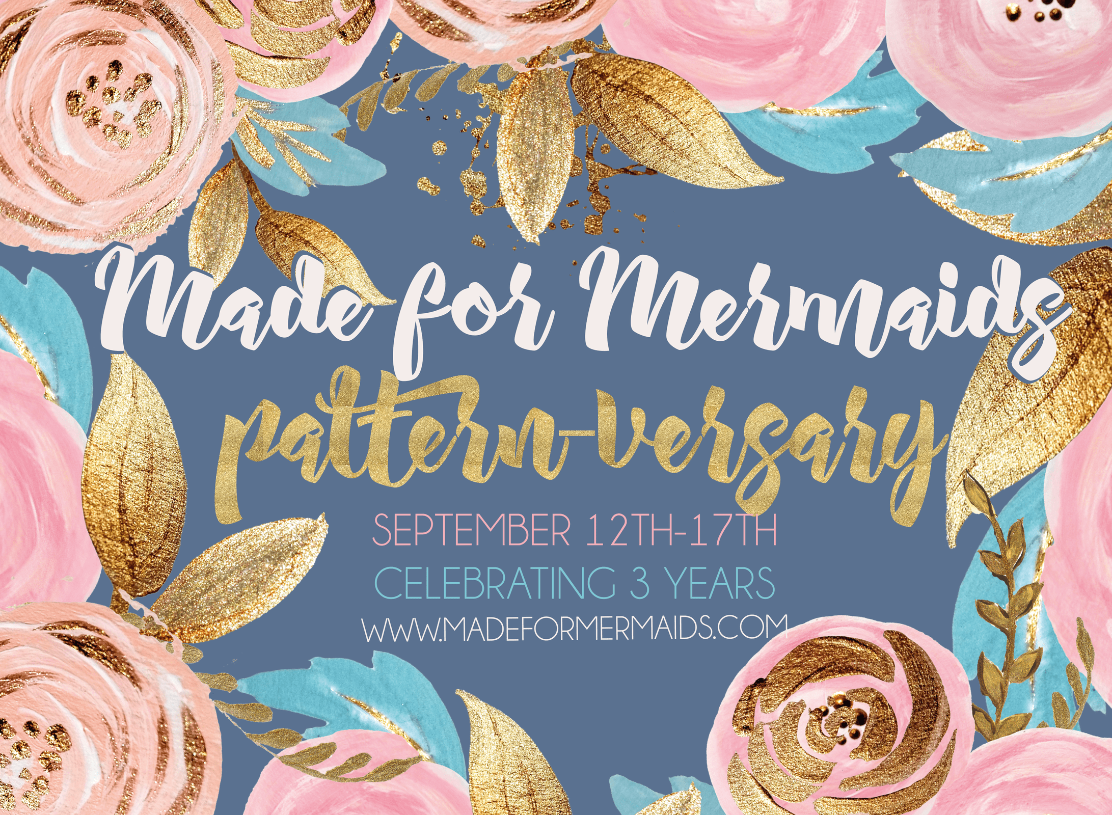 Celebrating 3 years of Made for Mermaids- Pattern-versary sale & giveaway!