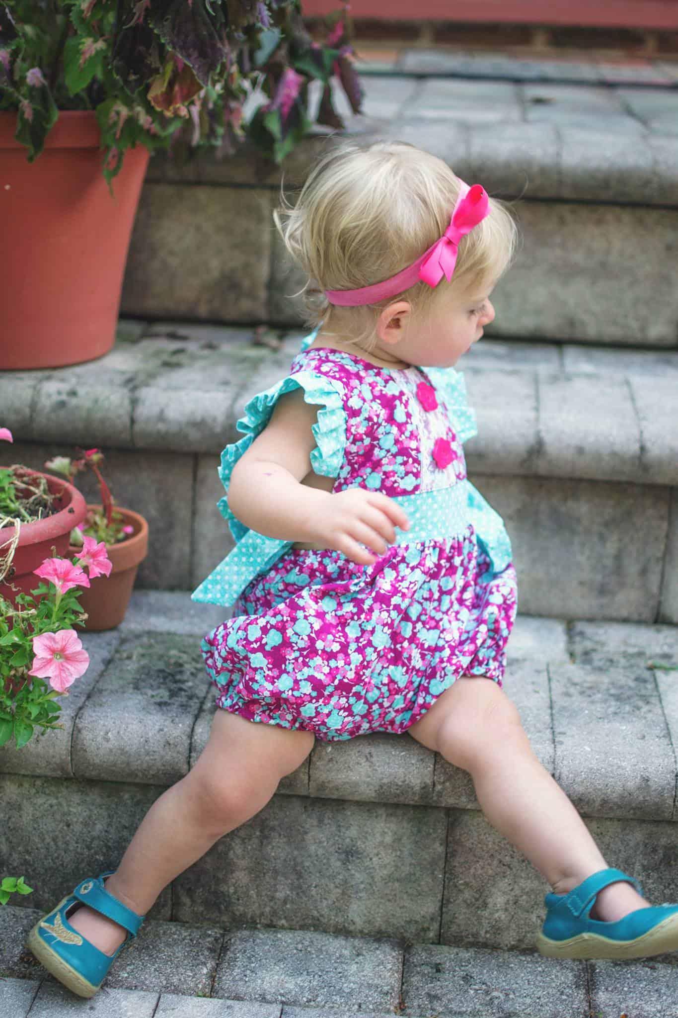Baby Hampton Romper Dress Top Amp Bloomer