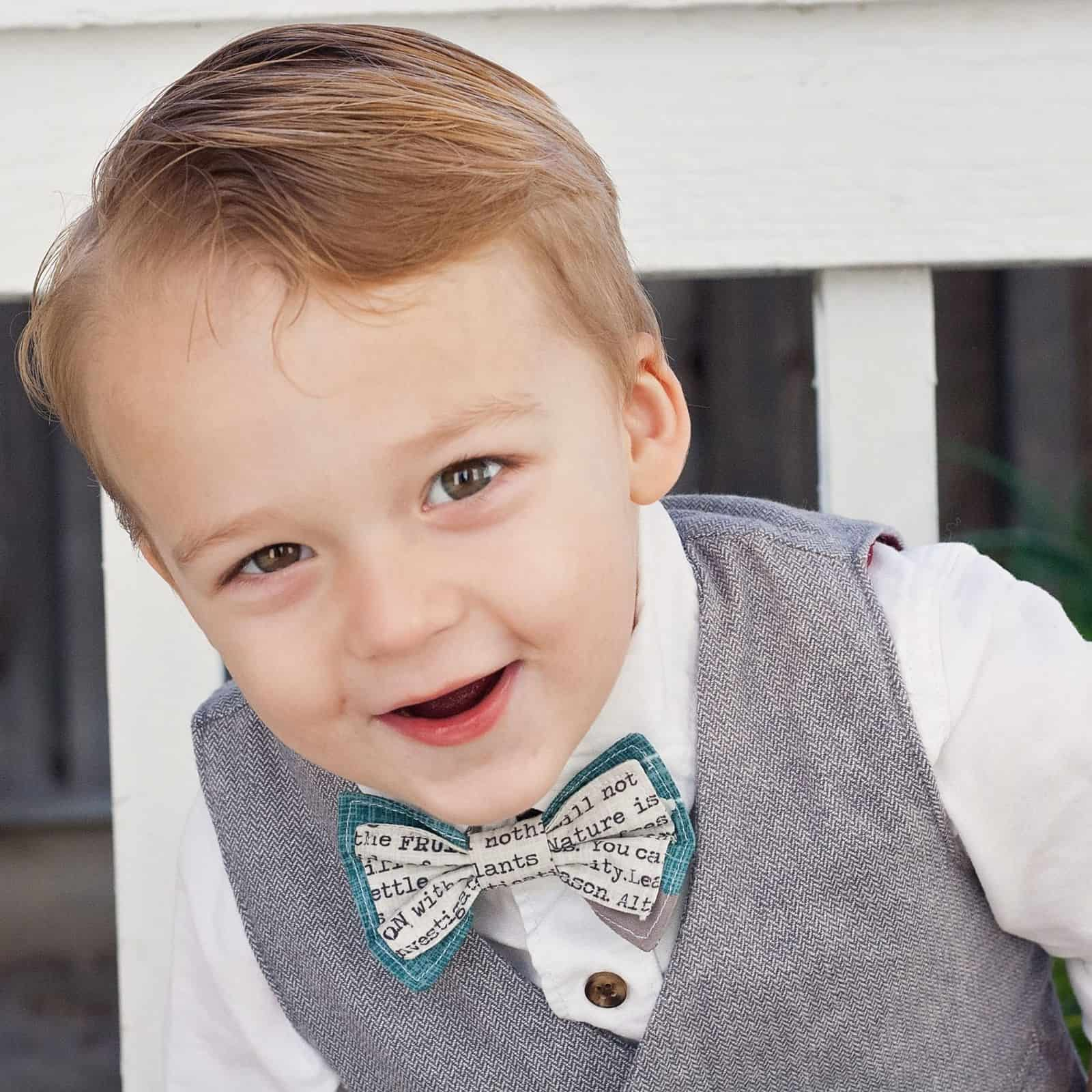 e7ed7c64ca11 FREE PDF PATTERN- Layered Bow Tie for Baby, Kids & Adults
