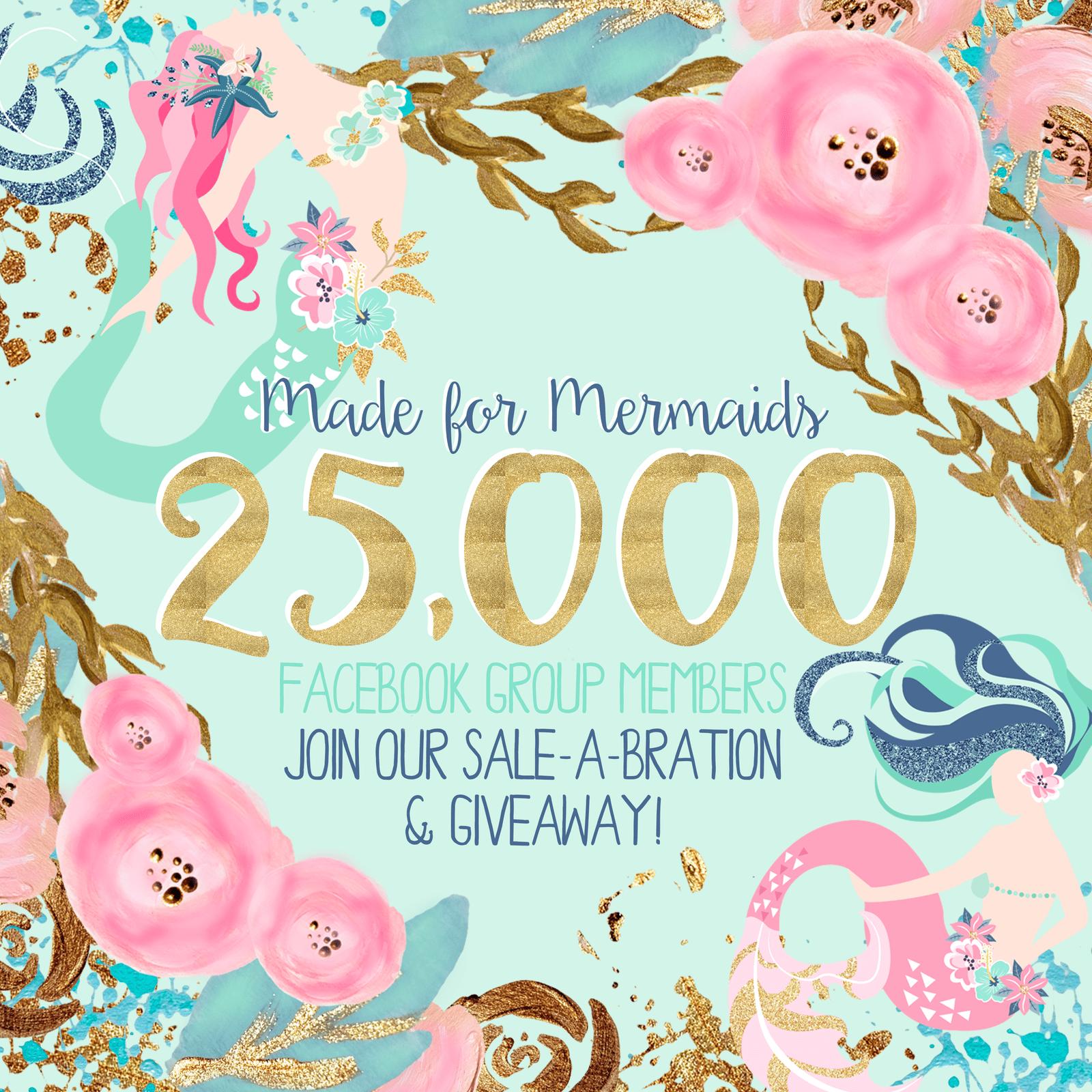 25,000 Sale-a-bration & Giveaway