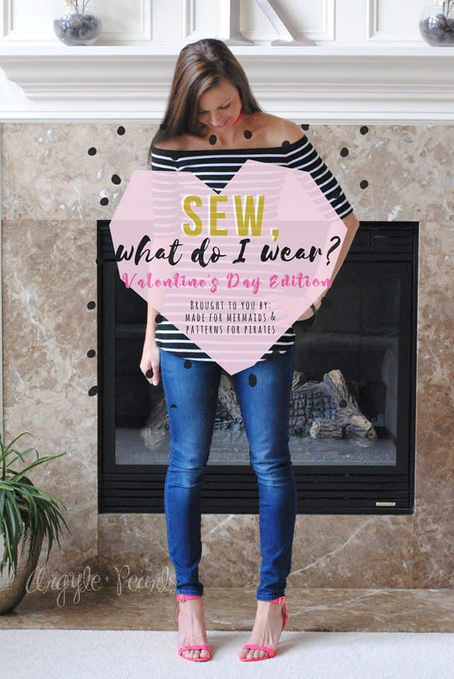 Sew, What Do I Wear? Valentine's Day Edition- Day 2
