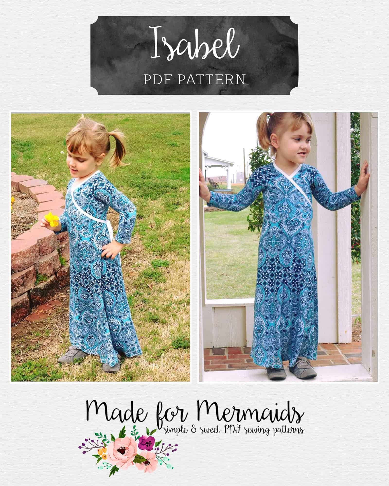 Isabel wrap top dress maxi made for mermaids isabel wrap top dress maxi jeuxipadfo Choice Image