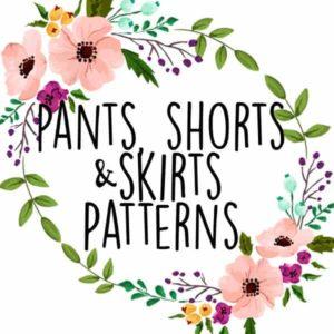 Pants, Shorts and Skirts