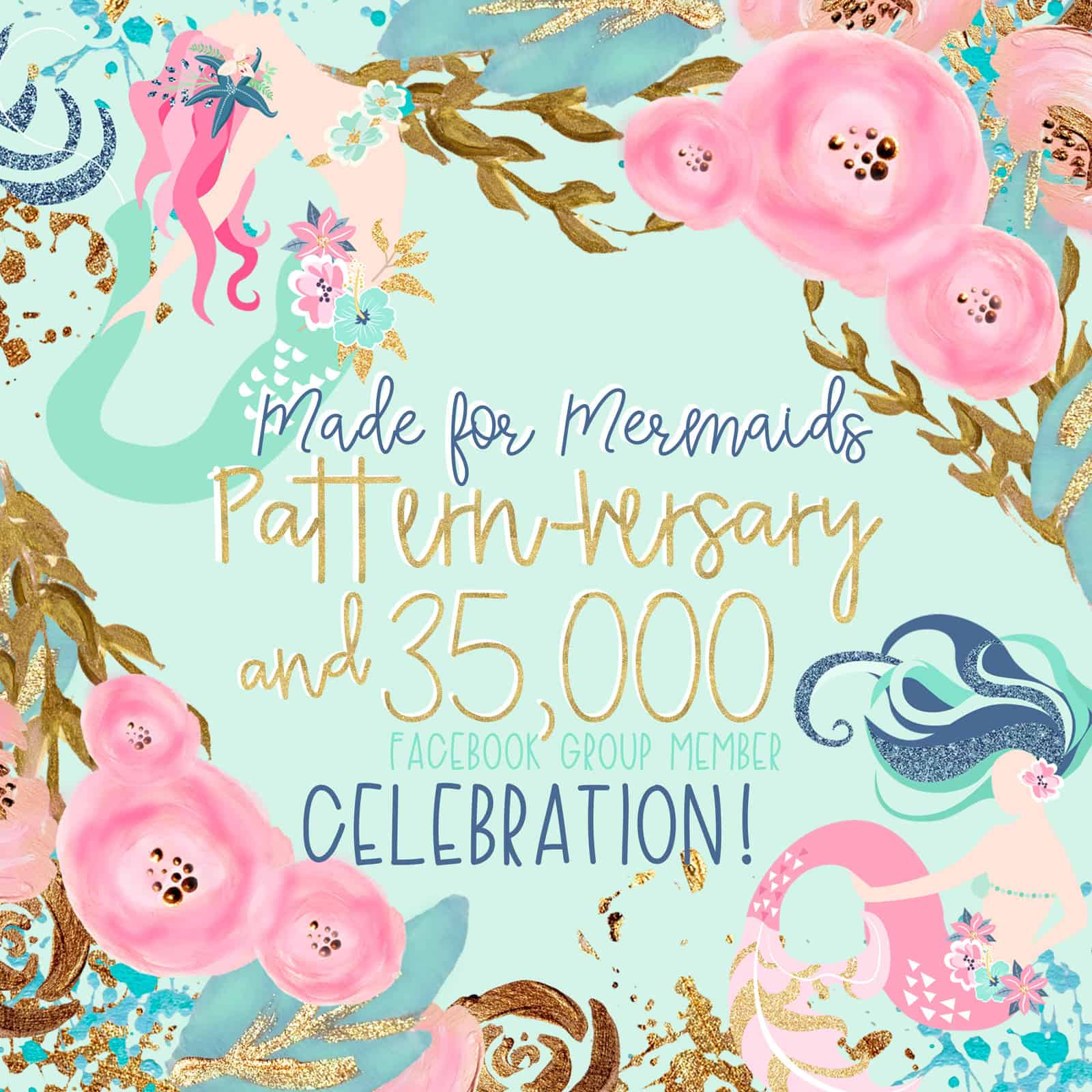 Pattern-versary and 35k Celebration!