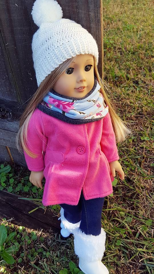 FREE Neck Warmer Pattern- 4 Sizes Doll, Child, Mama & Pap