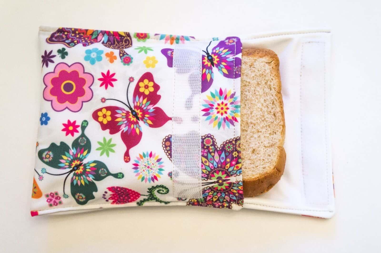 Free Reusable Snack Bag Pattern
