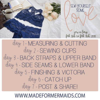 Sew Yourself Some Love Sew-a-long: Day 1 Measuring & Cutting