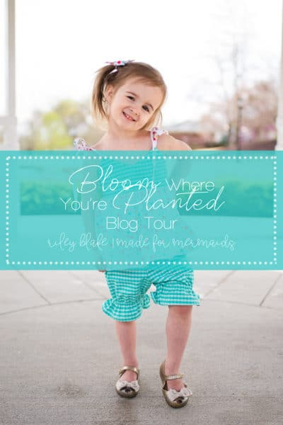 Riley Blake Bloom Where You're Planted Blog Tour