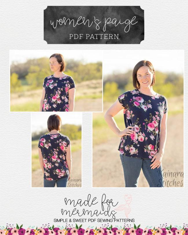 Women S Paige Piko Top Tunic Dress