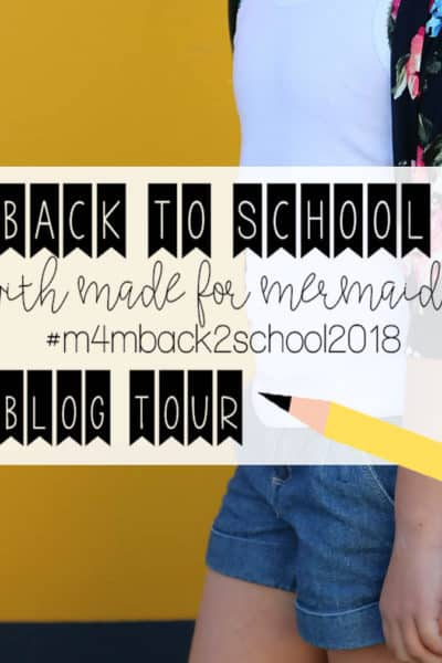 Back to School 2018: Blog Tour Day 3