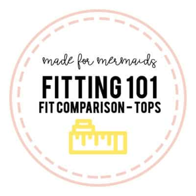 Fitting 101: Knit Tops Fit Comparison