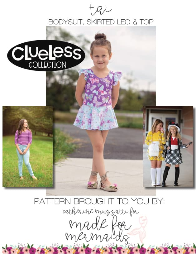 CLUELESS COLLECTION 5 PATTERN BUNDLE- 90 s Sock ... 6638b73ee