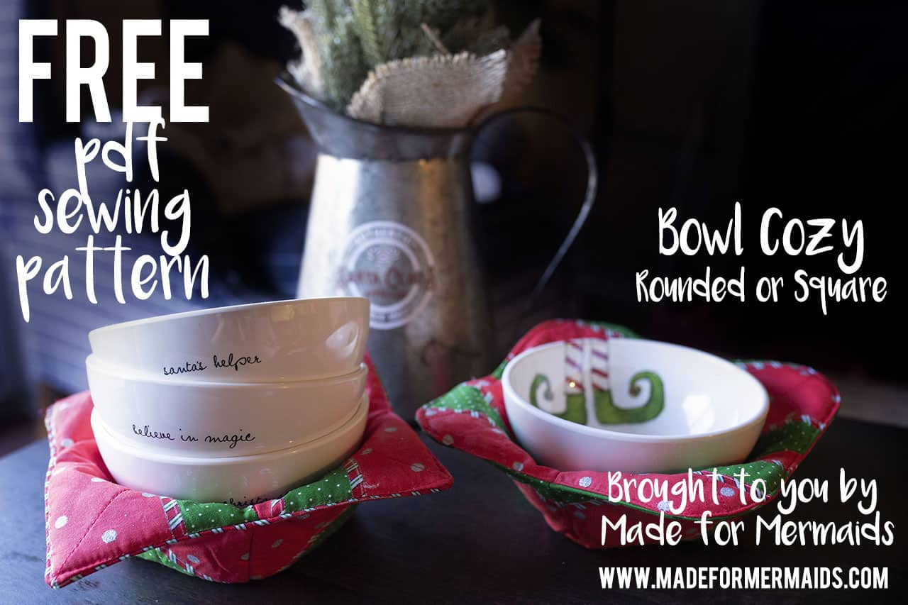 Free Pdf Pattern Bowl Cozy