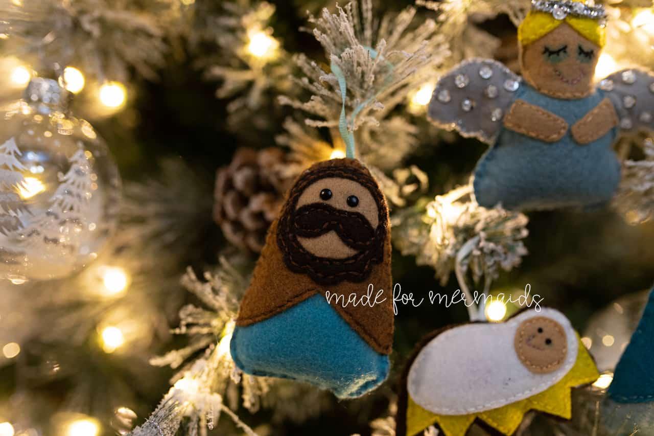 Felt Christmas Decorations Patterns Free.Free Pdf Pattern Felt Ornaments Pattern