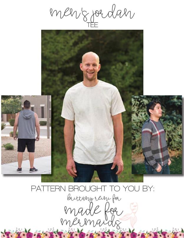 5ac1ba2c77d Men's Jordan Tee Pattern