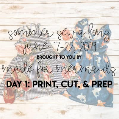 Sommer Sew-a-long: Day 1