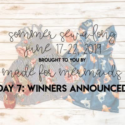 Sommer Sew-a-long: Winners Announced!