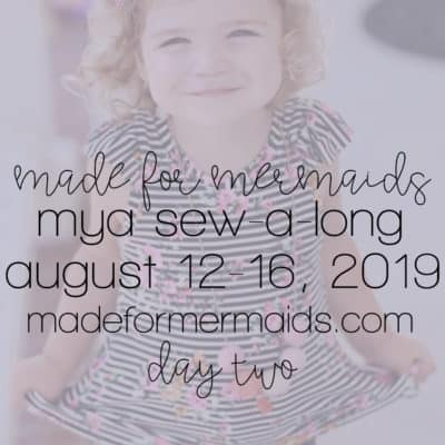 Mya Sew-a-long: Day 2 – Shoulder Seams & Sleeve Flutters