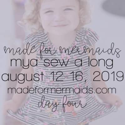 Mya Sew-a-long: Day 4 – Side Seams & Arm Bands