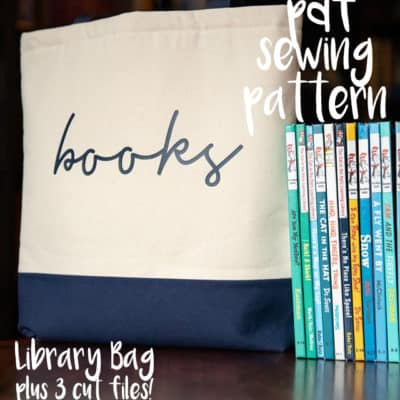 Day 9 – Library Bag