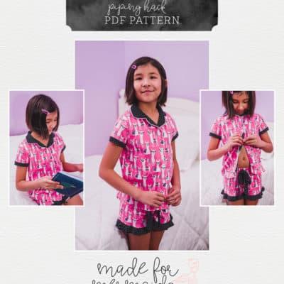 Adding Piping to Your Peyton Pajamas
