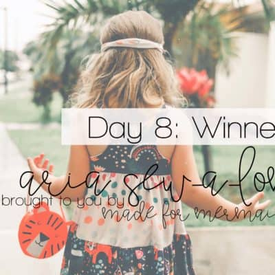 Aria Sew-a-long: Day 8 – Winners Announced!