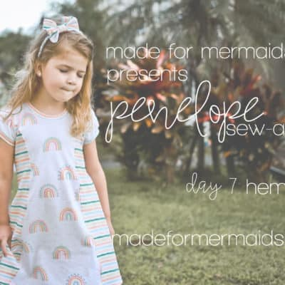Penelope Sew-a-long: Day 7