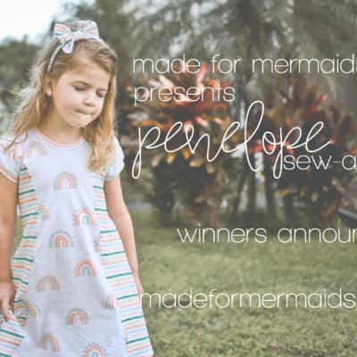 Penelope Sew-a-long: Winners!