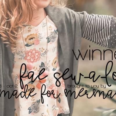 Fae Sew-a-long: Winners!