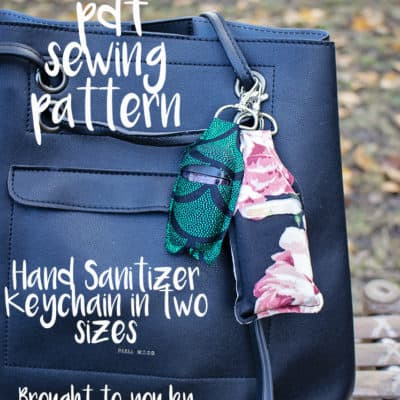 Day 5 – Hand Sanitizer Keychain
