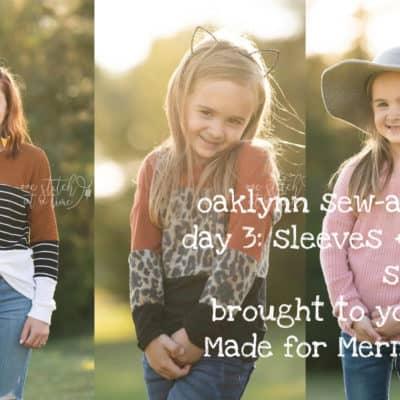Oaklynn Sew-a-long: Day 3