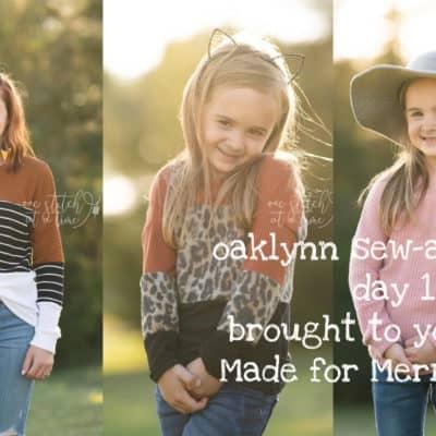 Oaklynn Sew-a-long: Day 1