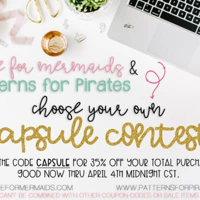 Choose your own capsule CONTEST!