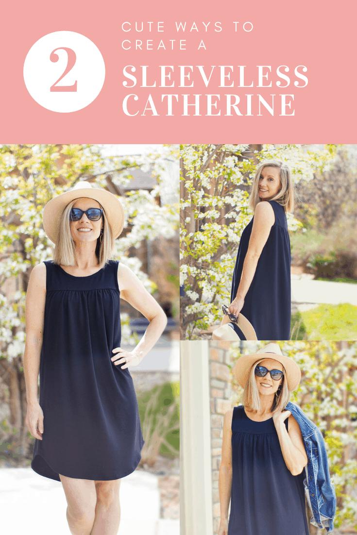 Catherine Sleeveless Collage pinnable