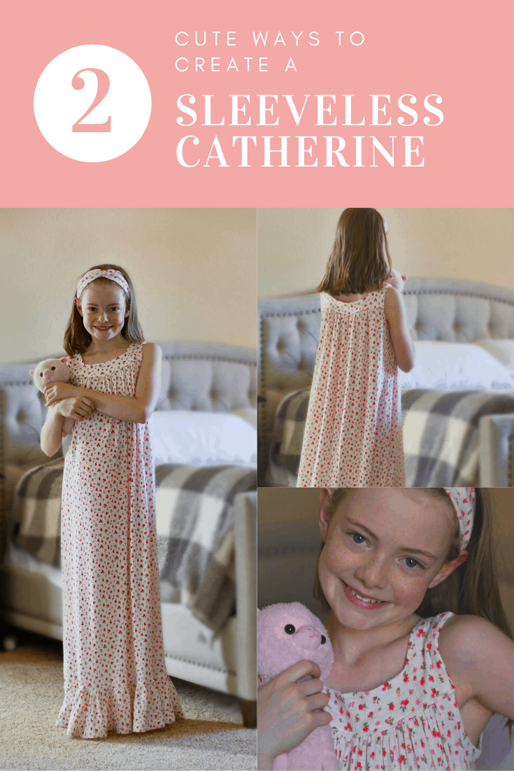 Pin for catherine sleeveless nightgown