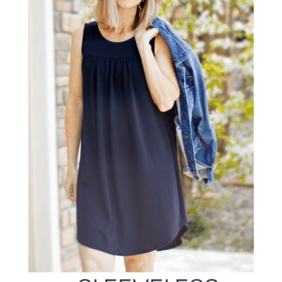 How to Turn Catherine Into a Sleeveless Top or Dress
