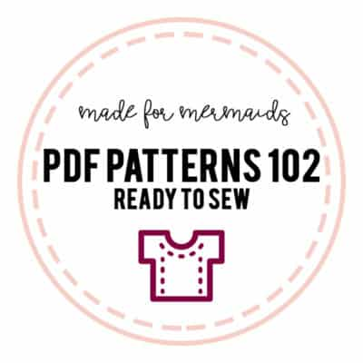 PDF Patterns 102: Ready to Sew