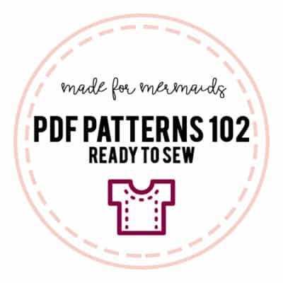 PDF Patterns 102: Ready to Sew