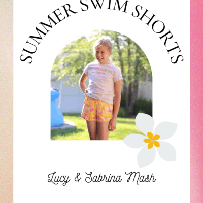 Summer Swim Shorts – Lucy & Sabrina Mash