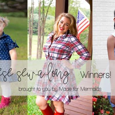 Reese Sew-a-long: Winners!