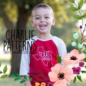 Charlie Patterns (boy's standards size chart)