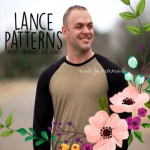 Lance Patterns (men's standards size chart)